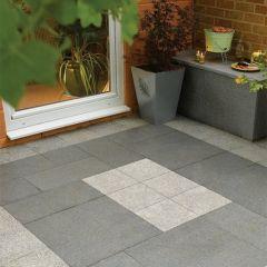 Graphite Grey Granite Flagstones