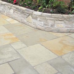 Hand Cut Cotsway Paving