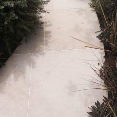 Serene Desert Sand Paving