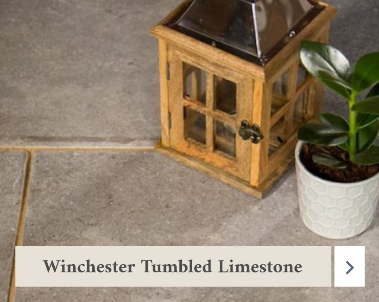 Winchester Tumbled Limestone Flooring