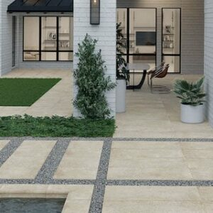 Inspiration For The Layout Of Your Modern Garden Paving Slabs & Tiles