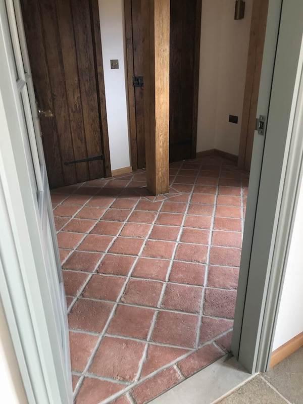 Old Welsh Quarry Tiles
